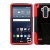 Insten Hard Hybrid Plastic Silicone Case For Lg G Stylo Black/red