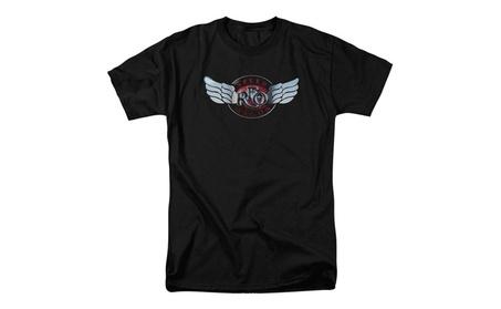 Reo Speedwagon- Rendered Logo T-Shirt f3aedbb7-144a-4e71-b56f-84a3bbfba941