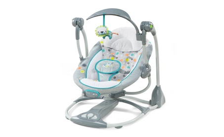 Ingenuity Convertme Swing 2 Seat Portable Swing Ridgedale 98233013-2368-4608-9b83-ce4ed45959ae