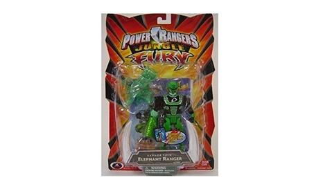 "Power Rangers Jungle Fury 5"" Action Figures - Elephant Ranger 924fe24f-0ec3-417c-98bb-9776cf290241"