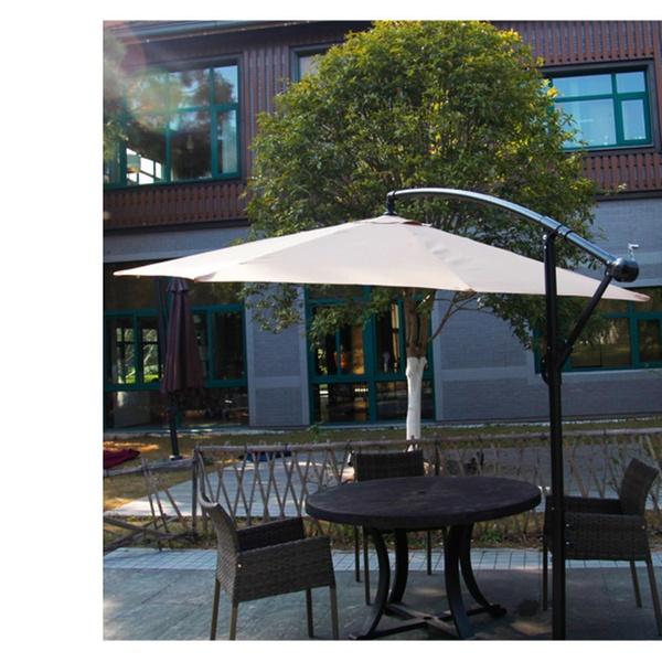 4760fa8c6b New 10Ft Outdoor Patio Cantilever Umbrella Freestanding Garden Tan
