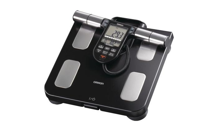 Omron Hbf516b Fullbody Sensor Body Composition Monitor & Scale (black)