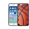 Insten Basketball Hard Tpu Case For Apple Iphone 6 6s   Brown Black