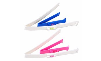 DIY Clipper Fringe Hair Cutting Tool for Layers Bang Styling Scissor Shape Set