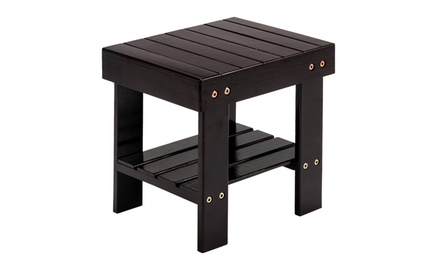 Dining Room Step Stool Child Bench Wooden Stool Seat Kids Foot Stool