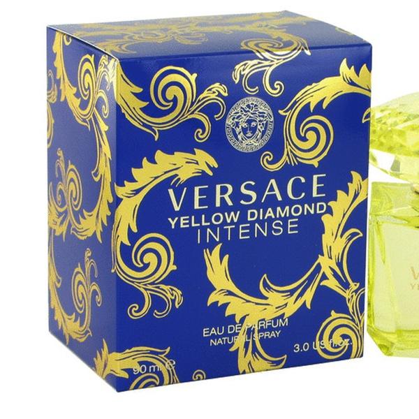 Versace Women Diamond Yellow Spray 3 Edp For New 0oz90ml Intense f6g7yb