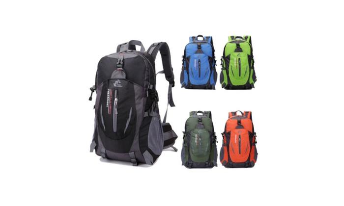 New Camping Bag Waterproof Nylon Travel Luggage Rucksack Backpack