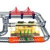 Urban Police Guard Car Rail Children's Kid's Toy Track Playset