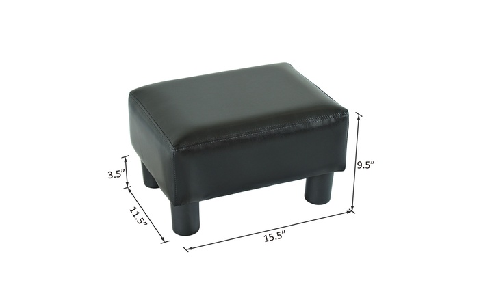 Strange Up To 42 Off On Modern Faux Leather Ottoman F Groupon Dailytribune Chair Design For Home Dailytribuneorg