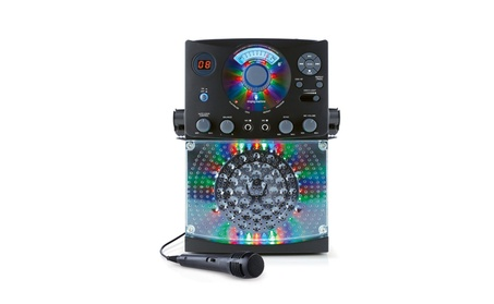 Karaoke System with Sound and Disco Singing Machine Top Loading CDG 5d46e8a6-cd6c-4331-8968-0432d3a8f2e9
