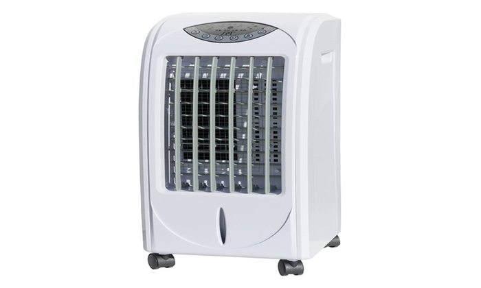 3-Speed Evaporative Portable Air Cooler with 3D Cooling Pad