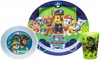 Nickelodeon PWPB-0392-B Paw Patrol Kids Dinnerware Sets, 3 Piece Boy