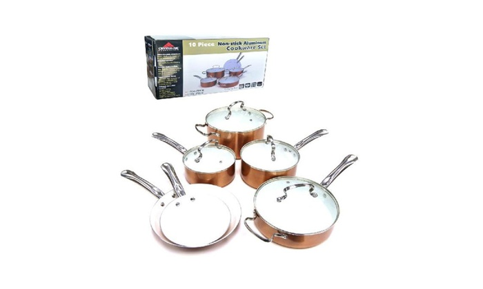 Buy It Now : 10pc Ceramic Cookware Set - Make Cooking Delightful
