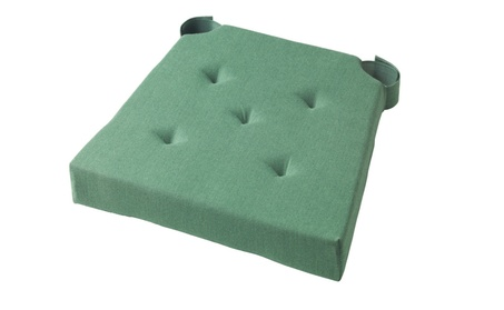 Green Indoor Outdoor Chair Seat Cushion for Office and Home Using 7fa2651b-61b0-4a11-bdc6-a904ff6ea020
