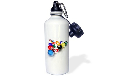 Water Bottle - Billiards Balls Pool - 21oz