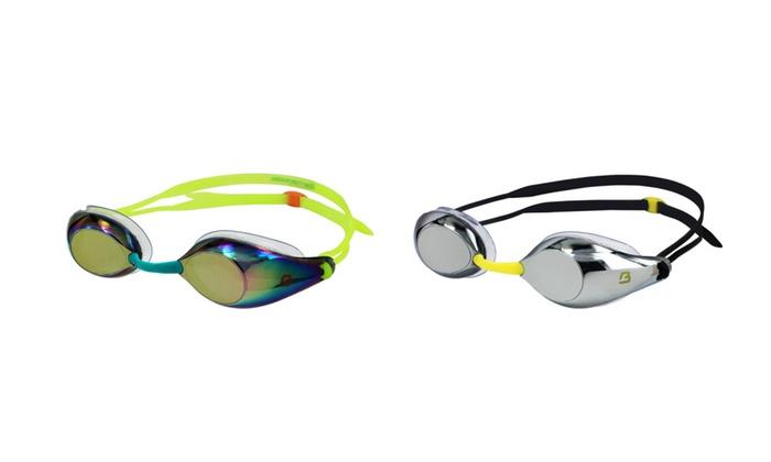 Barracuda Swim Goggle LIQUID SURGE - Mirror Lenses for Adults #91510