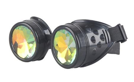 Punk Gothic Rainbow Retro Vintage Steampunk Crystal Lens Sunglass 87671425-dc2e-401f-95f7-8f8a2431309c