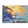 David Lloyd Glover Pacific Dawn Canvas Print