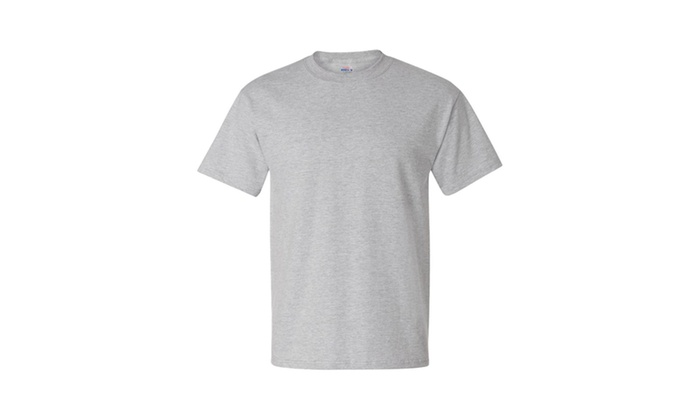 Hanes Beefy T 5180 Short-sleeve T-Shirt, Solid-4