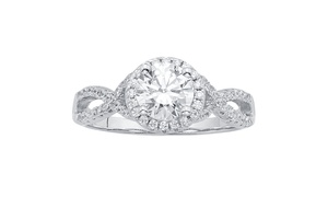 Classic Swarovski Element Engagement Ring by L'Artiste