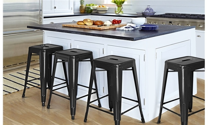 Fantastic Up To 16 Off On 24 Metal Counter Height Ki Groupon Goods Ncnpc Chair Design For Home Ncnpcorg