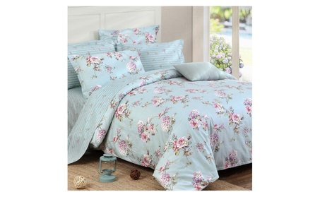 Riho 100% Cotton Floral Rural Bedding Girls Bedding Sets Bed Sheets b23f13e5-9421-4cd1-ab35-b1b44c5ece84