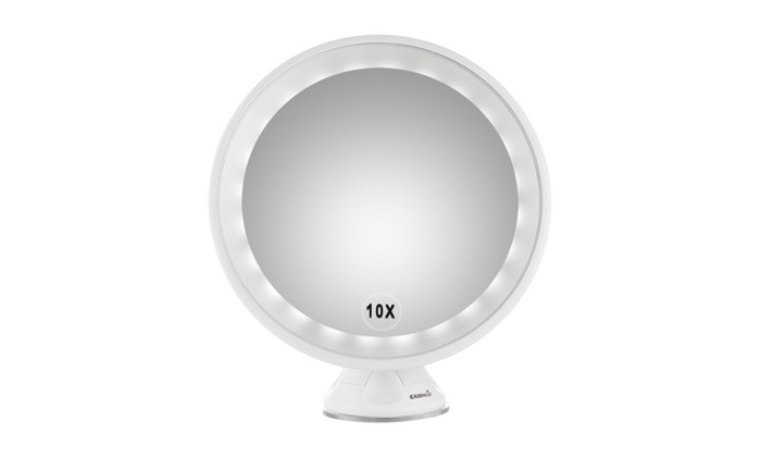 Easehold 10x Magnifying Led Lighted Vanity Makeup 360