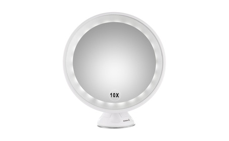 Easehold 10X Magnifying LED Lighted Vanity Makeup 360° Rotation Mirror ecbf6bd1-ce38-4b75-a2fa-e727e0dd352b