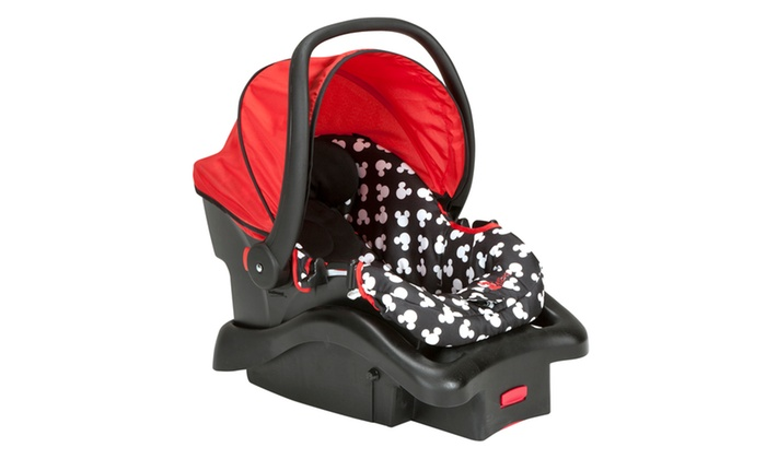 Disneys Mickey Mouse Silhouette Light N Comfy Infants Car Seat