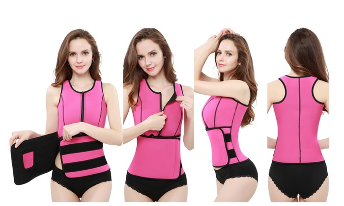 Neoprene Sauna Waist Control Shapers (Slimming Adjustable Belt (13)