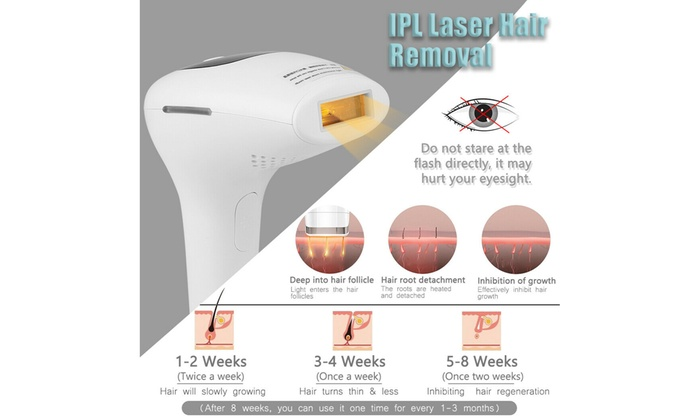 Up To 68 Off On Ipl Laser Permanent Hair Remo Groupon Goods