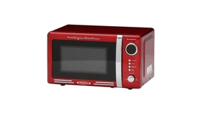 Nostalgia Rmo770Red .7 Cuft Microwave