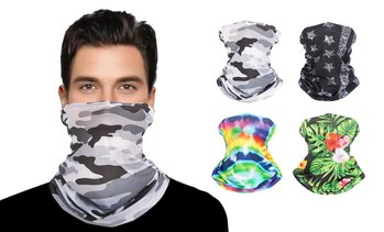 MKII Unisex Graphic Print Neck Gaiter Face Mask Cover