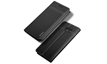 Genuine Leather Wallet Case for Samsung Galaxy S7 / S7 Edge / Note 5 Was: $32.99 Now: $13.99.