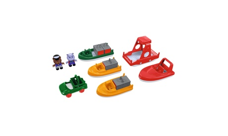 Aquaplay 6 Boat Pack with 2 Figures c195e88c-2b7d-433c-acf4-6cbfc74f1196