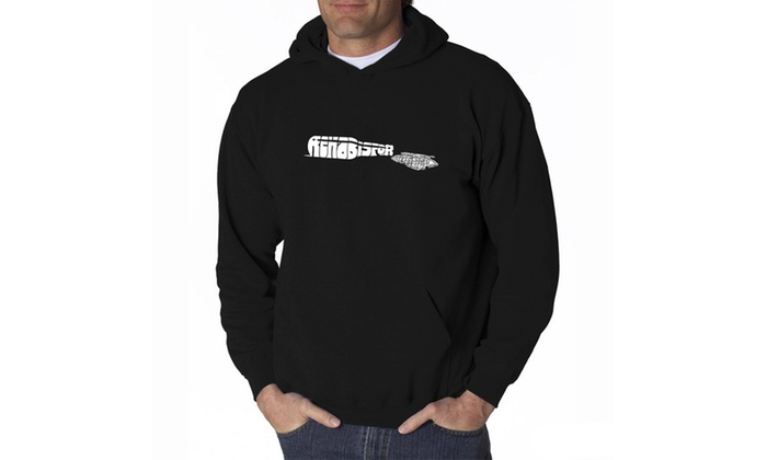 Men's Hooded Sweatshirt - REHAB IS FOR QUITTERS