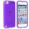 Insten Silicone Case For Apple iPod touch 6 6th 5 5th Gen, Purple