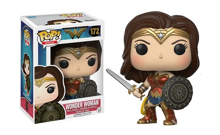 Heroes Wonder Woman Action Figure Model Anime Toy Kid Gift f9e7cde7-80f1-453e-a2e7-8bf2b456d278