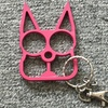 Cat Shaped Novelty Self-Defense Keychain