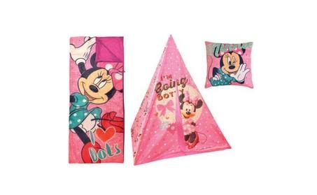 Minnie Mouse Teepee Play Tent and Slumber Bag b5026a34-df87-45af-b79a-e36433ae626d