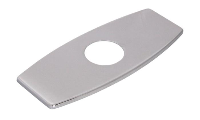 """BWE Bathroom Vessel Vanity Sink Faucet 6"""" Hole Cover Deck Plate"""