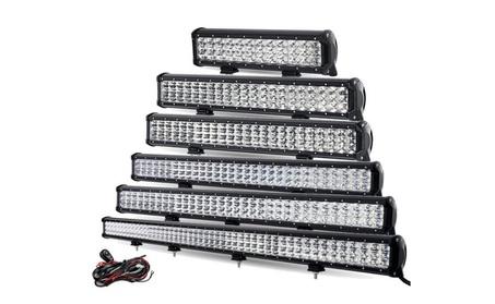 LED 3 Row Flood Light Bars For Car Boats Trucks and ATV 797750a3-9f8d-4ae4-bd57-7a5b64aece32