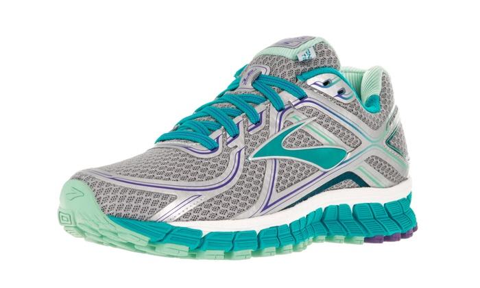 68a397b4388 Brooks Women s Adrenaline Gts 16 Running Shoe Medium 6 Women US  Silver Bluebird Bluetint