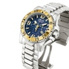 Invicta Men's 10894 Excursion Reserve 50mm Chrono Blue Dial SS Watch