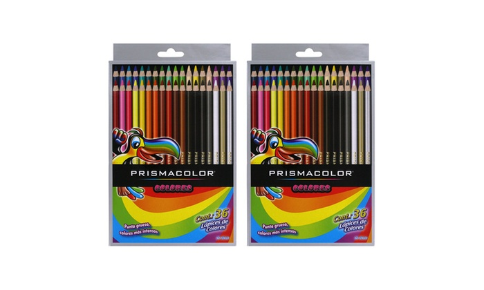 up to 37 off on scholar colored pencils 2 pack groupon goods