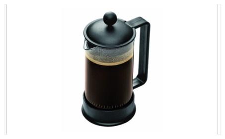 Bodum Brazil 3 cup French Press Coffee Maker, 12 oz, Black New 618a6bed-fdb5-44db-9af1-e157172e7c81