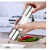 2-IN-1 Stainless Double-ended Salt & Pepper Shakers/Mills/Grinder