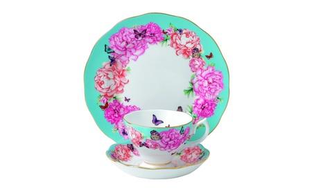 Royal Albert Devotion 3-Piece Teacup, Saucer and Plate Set 1c323476-af43-4c09-875f-ca14e47e8110