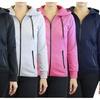 Women's Full-Zip Tech Hoodies With Zipper Pockets