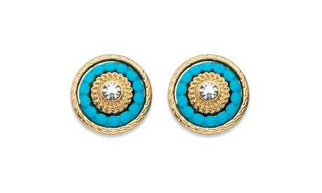 Crystal 14k Gold-Plated Earrings 18c163b5-c76b-41c1-8365-4b959def2100